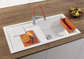 Drez Blanco Silgranit Sity XL 6  S orange